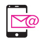 Get confirmation SMS & Email