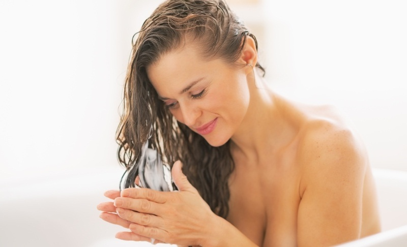 Hairs wash recepie to get clean and healthy scalp