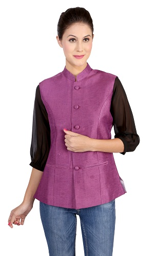 The Nehru collar jacket