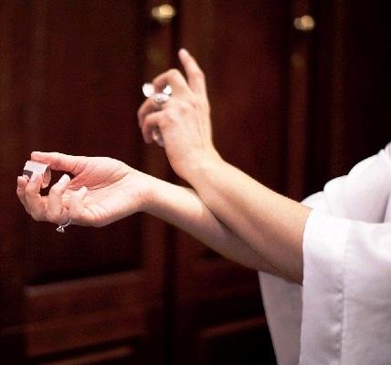 Avoid Rubbing Scent