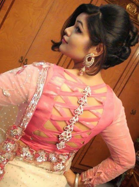 c870b43f2dd1f9 Letest Designer Blouse for net sarees