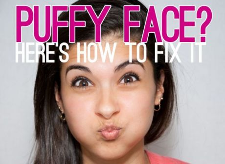 HOW TO GET RID OF PUFFY FACE?