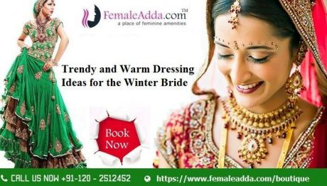 Trendy and Warm Dressing Ideas for the Winter Bride