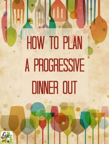 HOW TO PLAN YOUR DINNER OUT