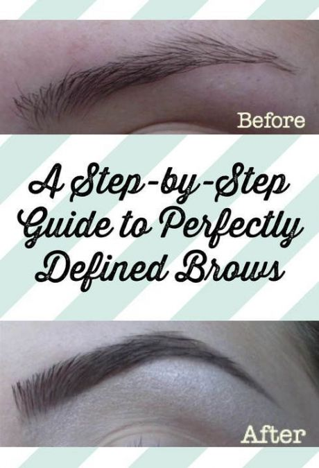 STEP-BY-STEP GUIDE TO PERFECTLY DEFINED BROWS