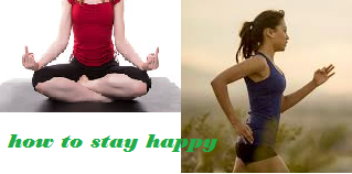 HOW TO STAY RELAXED AND HAPPY