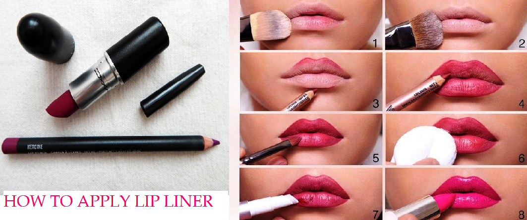 HOW TO USE LIP LINER TO MAKE YOUR LIPS LOOK FULLER
