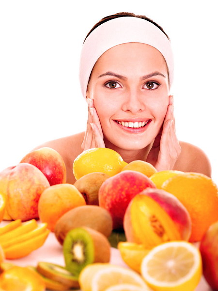 FRUIT MASKS FOR GLOWING SKIN