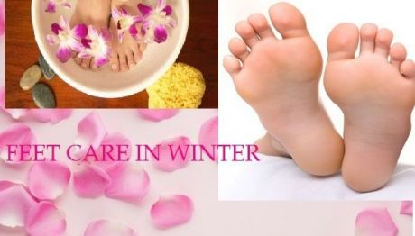 My feet care regime in winter season