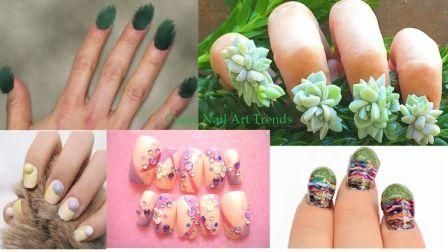 CRAZY AND HOTEST NAIL ART TRENDS