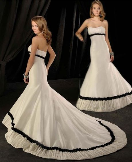 Off shoulder designer gown