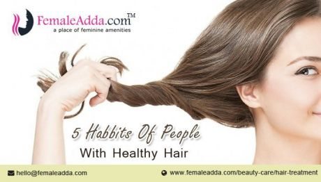 5 Habits of People with Healthy Hair