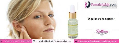 What is a face serum?